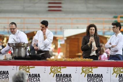 """Gusto e turismo alla kermesse """"Magna Grecia"""""""