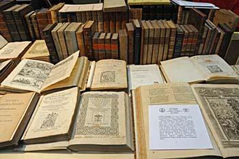 Tornano alla biblioteca Girolamini oltre 500 volumi. Ingente il danno erariale