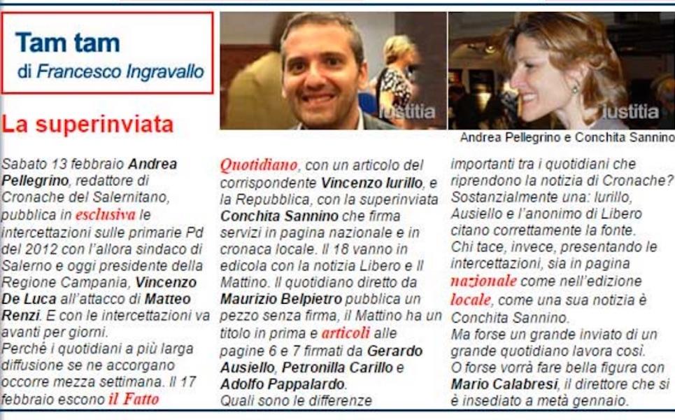 Intercettazioni, giornalisti e citazioni: Iustitia tira giù la veste a Repubblica