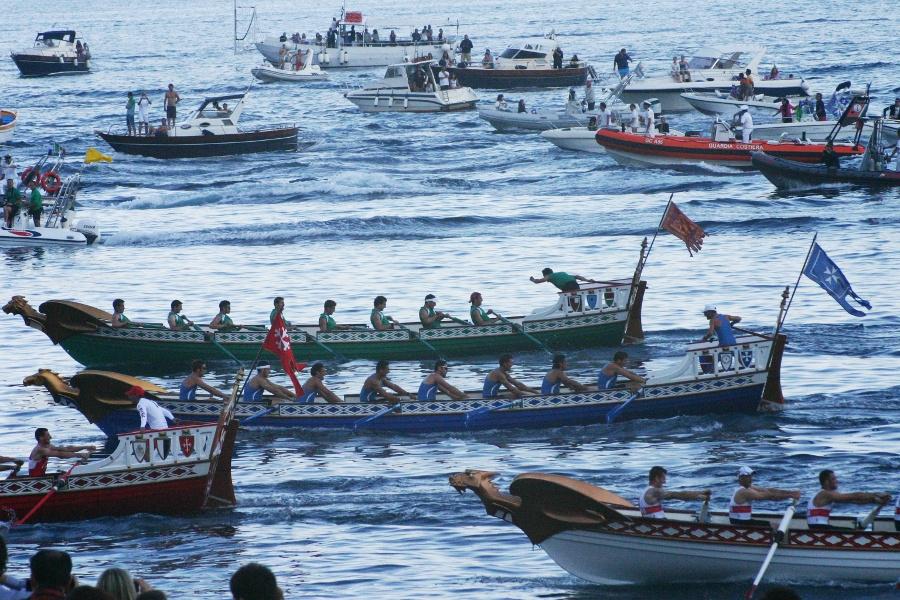 Amalfi pronta per la regata delle repubbliche marinare