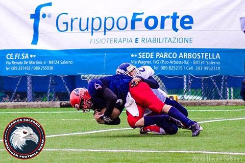 Football Americano: ottimo esordio per «Eagles Salerno»