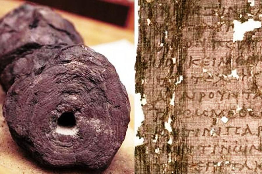 Team di studiosi legge i papiri «non aperti» dell'antica Ercolano