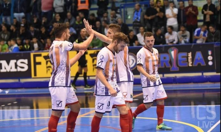 CalcioA5, Serie A: «Feldi Eboli», primo punto in campionato