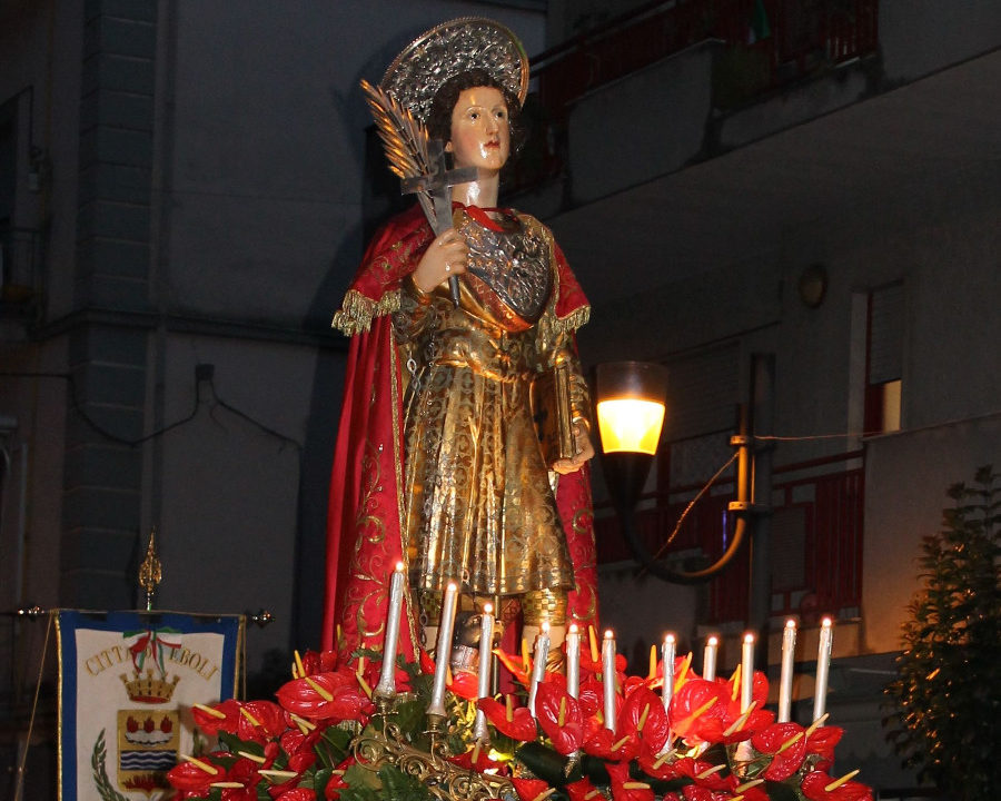 San Vito: Eboli in festa per il patrono, tra riti religiosi e concerti live