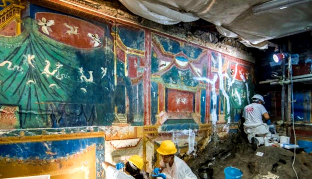 Campania: pitture parietali e nuove tecniche di scavo al XIV Colloquio internazionale AIPMA