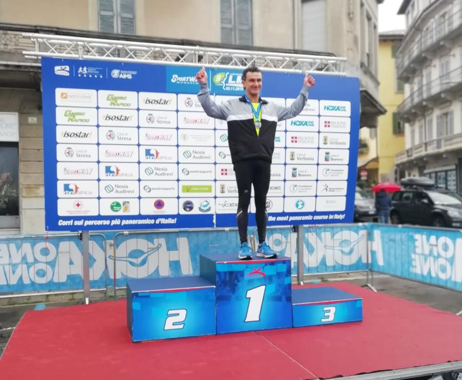 9^ Sportway: ebolitano sul podio nella maratona del Lago Maggiore