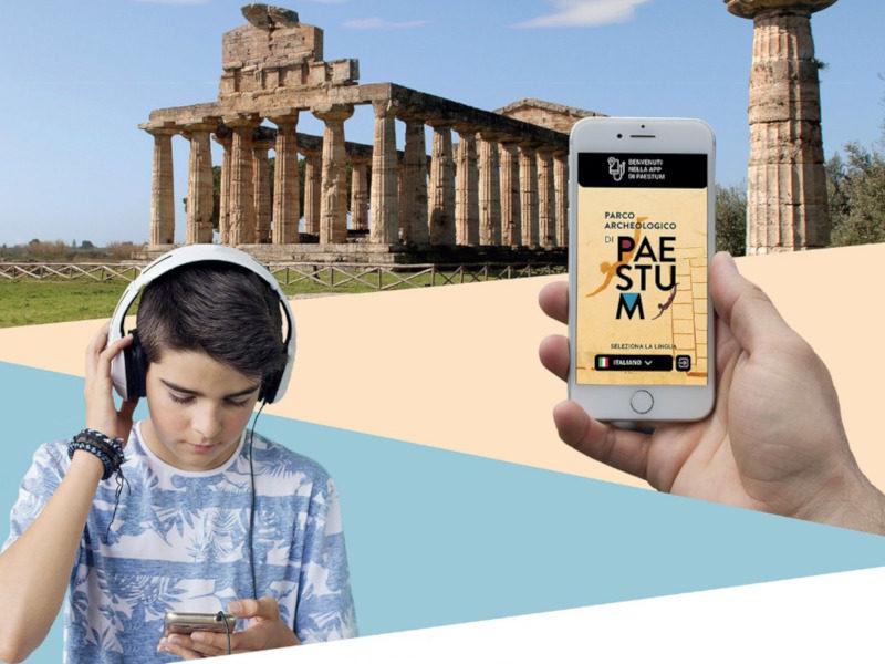 Paestum in una App: miti e storie dell'antichità su tablet e smartphone