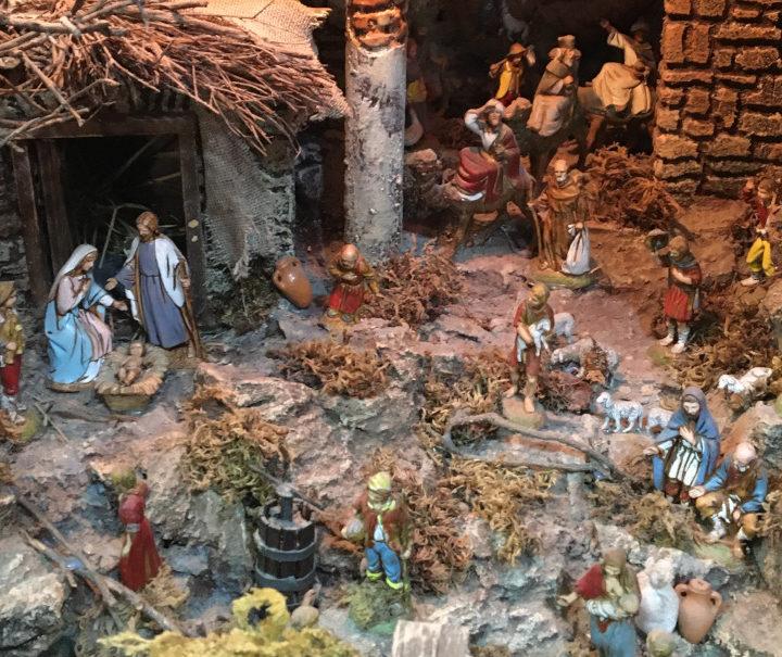 Presepi d'arte, da Eboli a San Gregorio Armeno: la bottega di Michele e Marisa