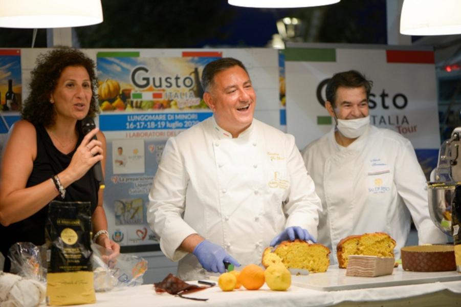 """""""Gusto Italia in tour"""", da Minori il primo laboratorio del gusto con Sal De Riso"""