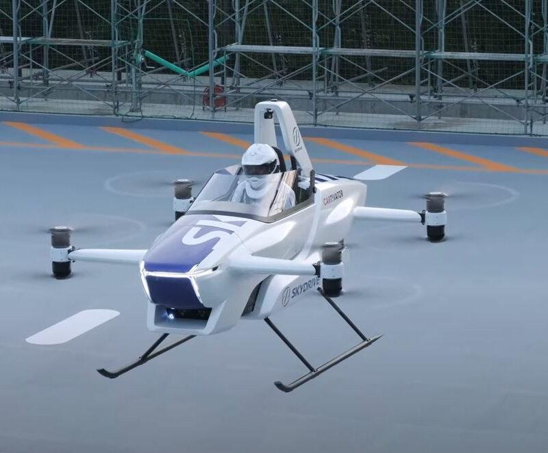 Voleremo sui droni? Dal Giappone il primo test. IL VIDEO