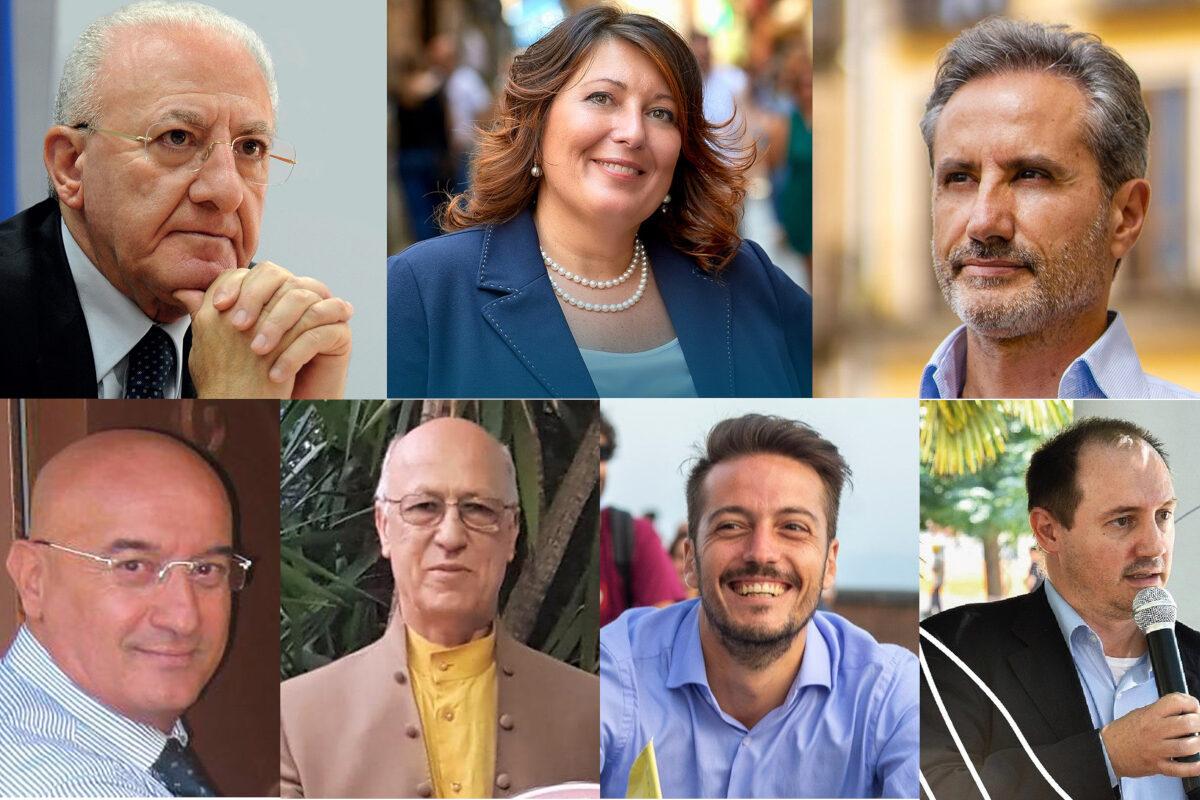 Campania al voto: ecco i candidati alla presidenza della giunta
