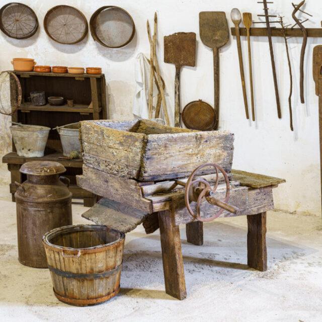 Museo della bufala e della mozzarella in una masseria del'700