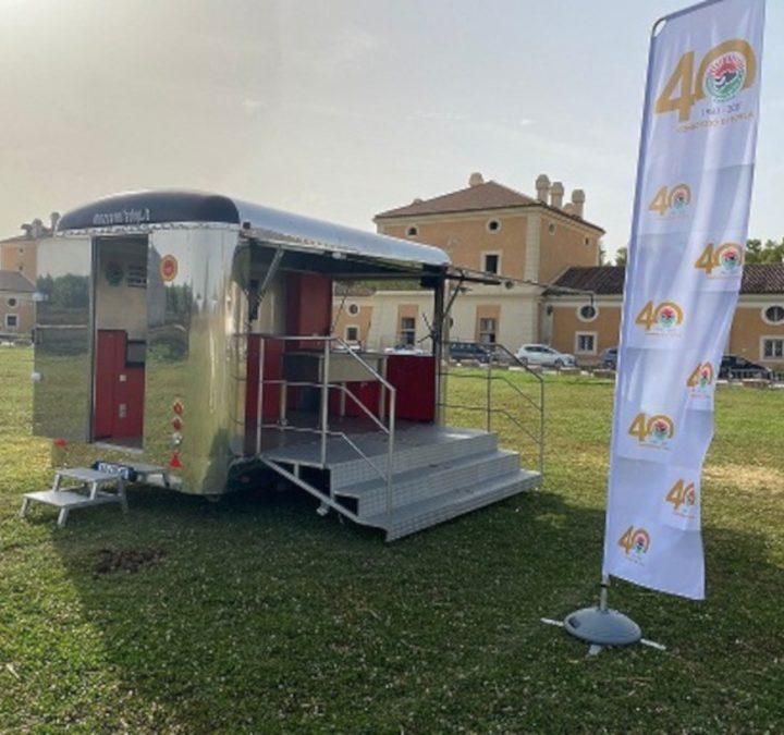 """Cibus 2021: """"mozzamobile"""" in tour per promuovere l'oro bianco"""